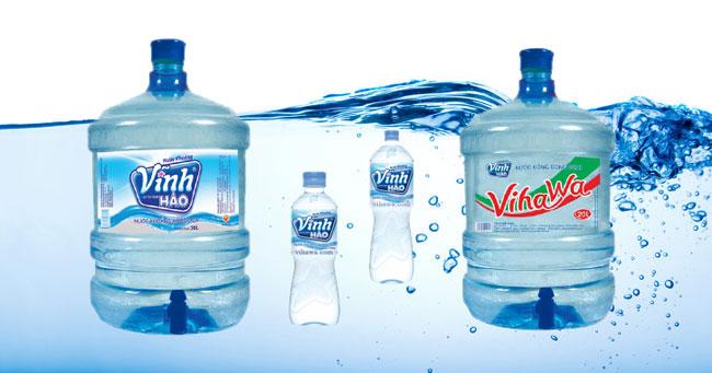 nước đóng bình Vĩnh Hảo