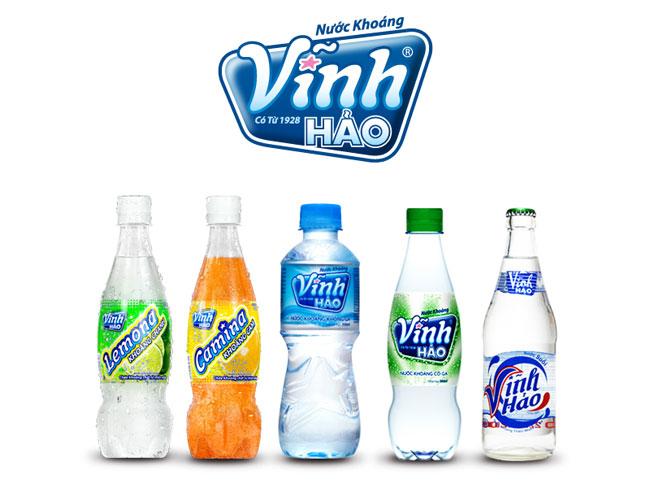 nước uống Vĩnh Hảo
